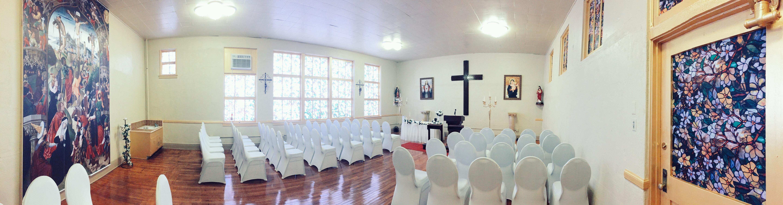 Chapel Hacienda Hall